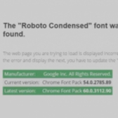 As If Miners Weren't Enough, Roboto Condensed Attack Now Pushing Crapware Image